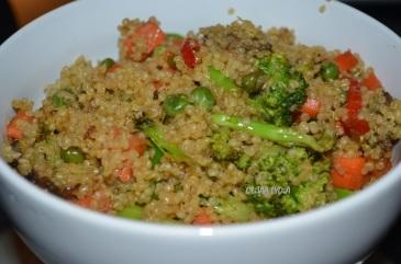 Stir Fry Quinoa